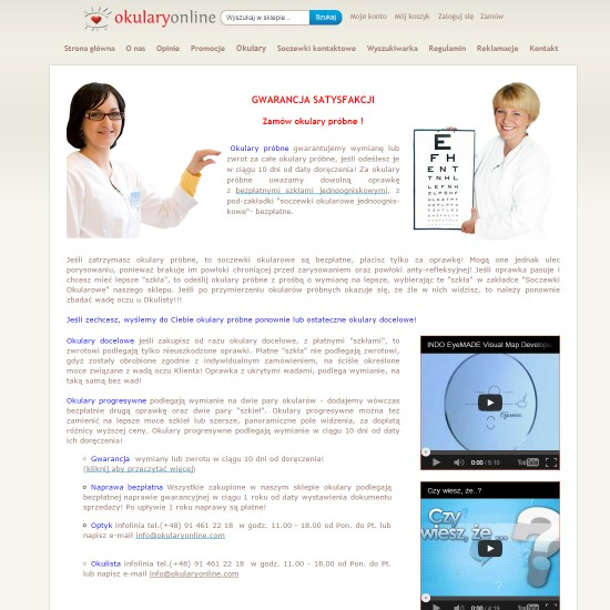 Okulary online